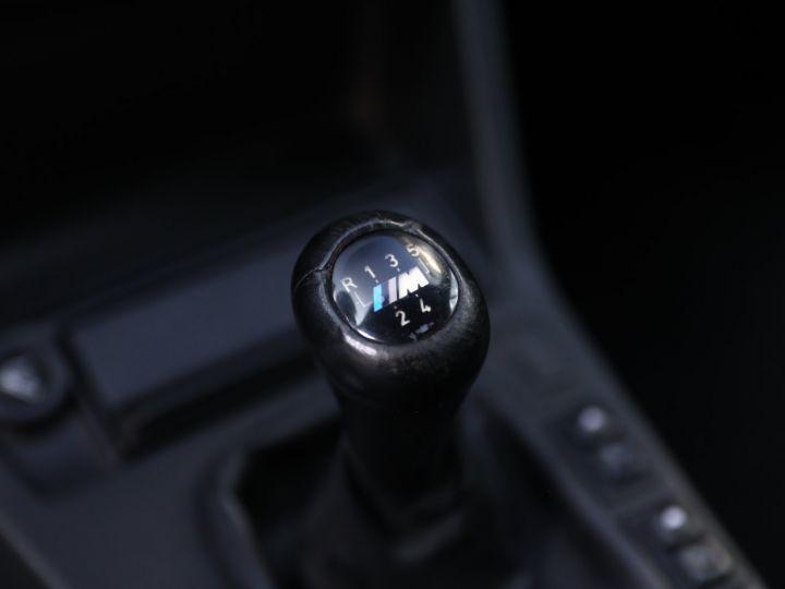 BMW Série 3 BMW 320I CABRIOLET E30 WORLDINE / 117000 KMS / BVM / VOLANT M Noir - 47