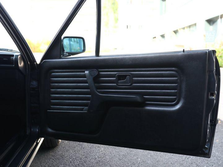 BMW Série 3 BMW 320I CABRIOLET E30 WORLDINE / 117000 KMS / BVM / VOLANT M Noir - 50