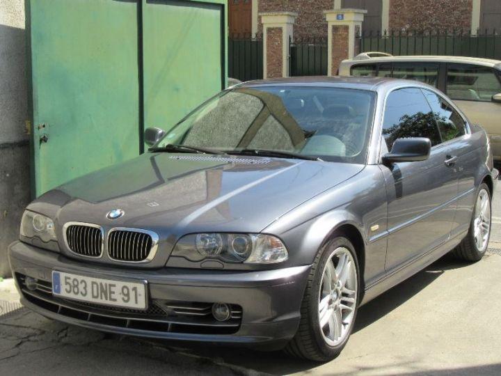 BMW Série 3 E46 330CI 231CH STEPTRONIC GRIS FONCE Occasion - 1
