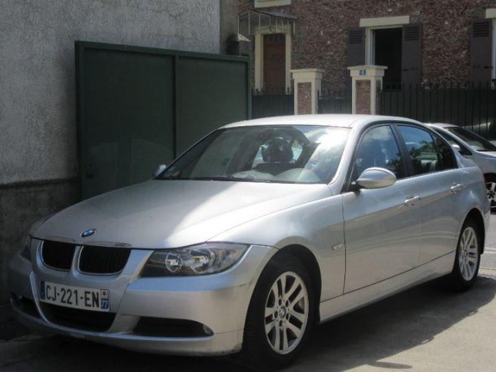 BMW Série 3 E90 318D 143CH LUXE GRIS CLAIR Occasion - 1