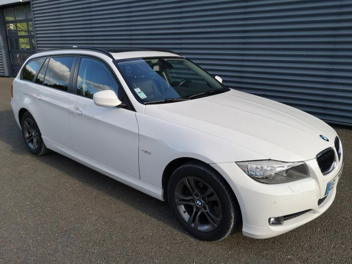 BMW Série 3 E91 TOURING 320DA SPORT DESIGN XDRIVEq Blanc Occasion - 1