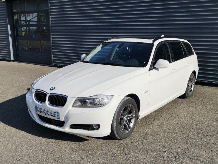 BMW Série 3 E91 TOURING 320DA SPORT DESIGN XDRIVEq Blanc Occasion - 4