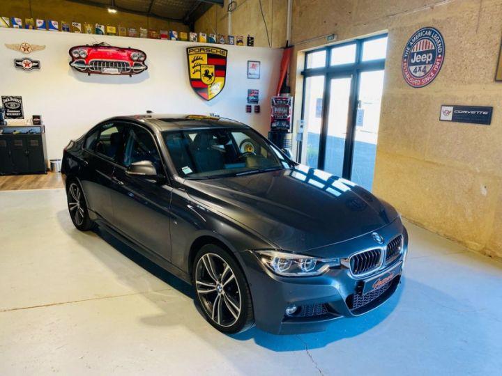 BMW Série 3 (F30) 320 DA 190CH M SPORT PACK M SPORT SHADOW EURO6D-T Gris F - 1