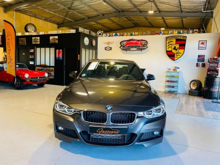 BMW Série 3 (F30) 320 DA 190CH M SPORT PACK M SPORT SHADOW EURO6D-T Gris F - 2