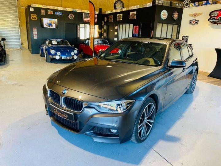 BMW Série 3 (F30) 320 DA 190CH M SPORT PACK M SPORT SHADOW EURO6D-T Gris F - 3