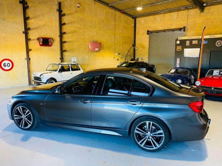 BMW Série 3 (F30) 320 DA 190CH M SPORT PACK M SPORT SHADOW EURO6D-T Gris F - 4