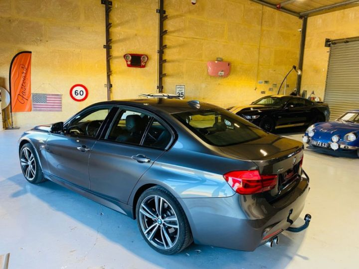 BMW Série 3 (F30) 320 DA 190CH M SPORT PACK M SPORT SHADOW EURO6D-T Gris F - 5