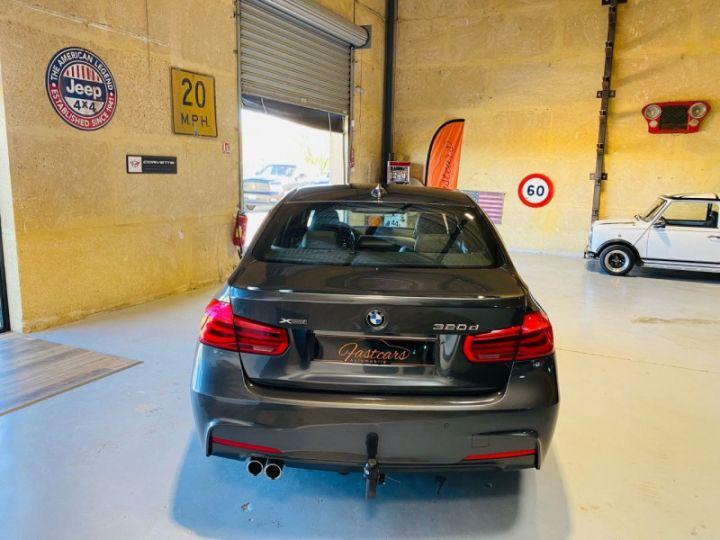 BMW Série 3 (F30) 320 DA 190CH M SPORT PACK M SPORT SHADOW EURO6D-T Gris F - 6