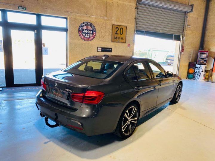 BMW Série 3 (F30) 320 DA 190CH M SPORT PACK M SPORT SHADOW EURO6D-T Gris F - 7