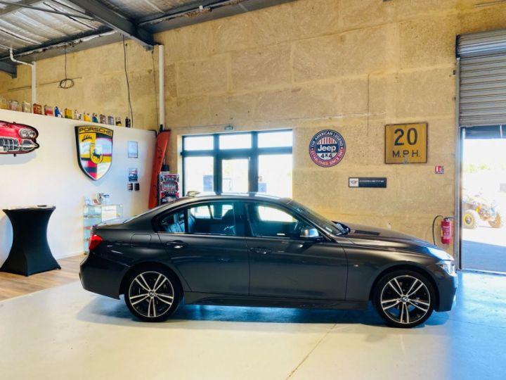 BMW Série 3 (F30) 320 DA 190CH M SPORT PACK M SPORT SHADOW EURO6D-T Gris F - 8