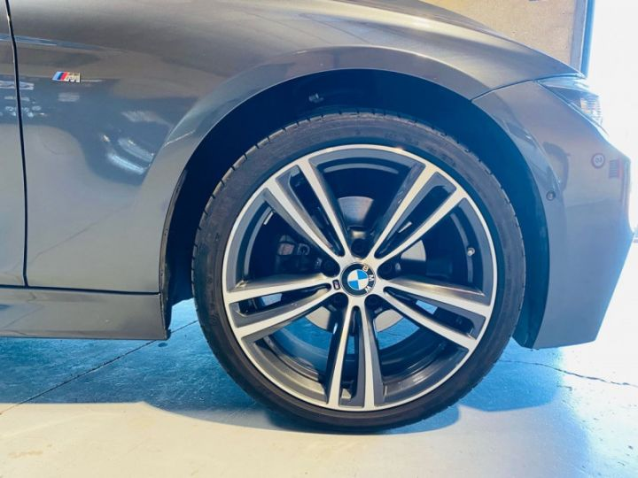 BMW Série 3 (F30) 320 DA 190CH M SPORT PACK M SPORT SHADOW EURO6D-T Gris F - 9