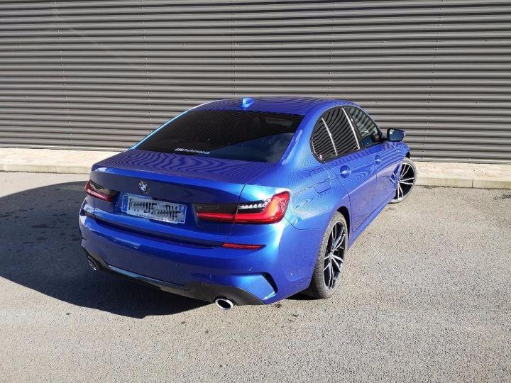 BMW Série 3 G20 330iA 258 M SPORT 07/2019 qi Bleu Métallisé Occasion - 2