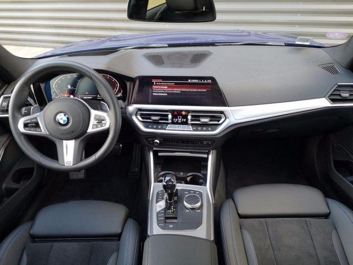 BMW Série 3 G20 330iA 258 M SPORT 07/2019 qi Bleu Métallisé Occasion - 3