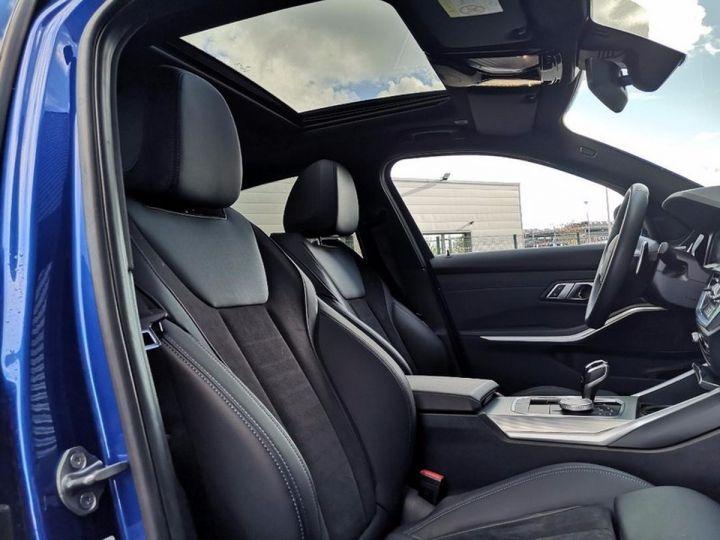 BMW Série 3 G20 330iA 258 M SPORT 07/2019 qi Bleu Métallisé Occasion - 4