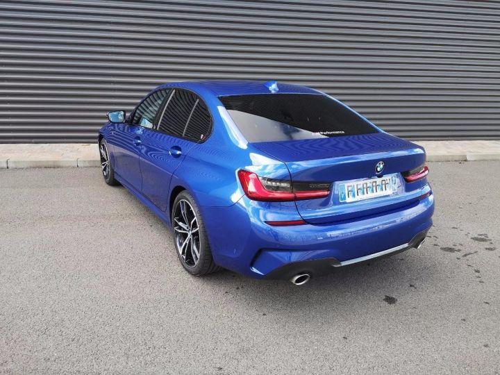 BMW Série 3 G20 330iA 258 M SPORT 07/2019 qi Bleu Métallisé Occasion - 6