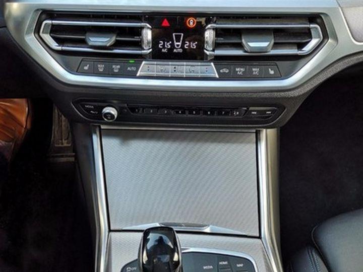 BMW Série 3 G20 330iA 258 M SPORT 07/2019 qi Bleu Métallisé Occasion - 10
