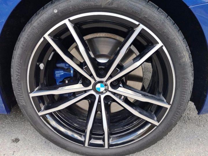 BMW Série 3 G20 330iA 258 M SPORT 07/2019 qi Bleu Métallisé Occasion - 14