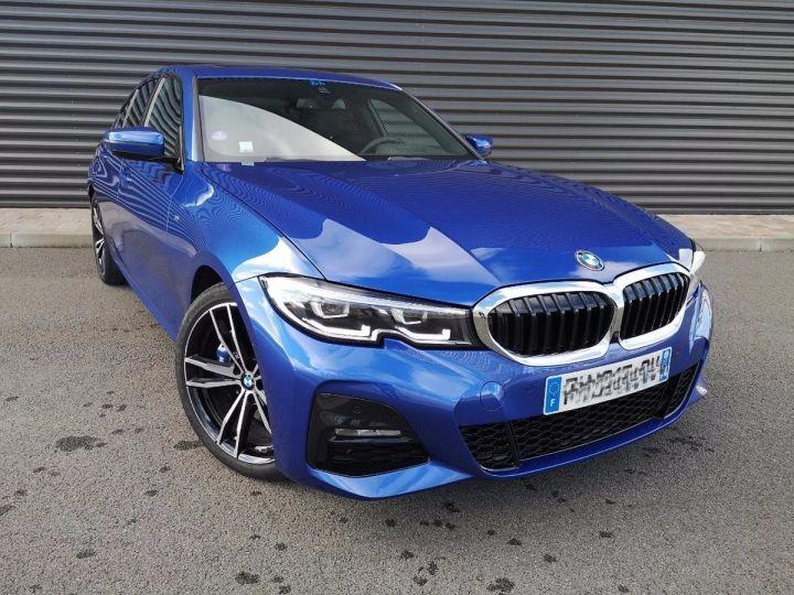 BMW Série 3 G20 330iA 258 M SPORT 07/2019 qi Bleu Métallisé Occasion - 20