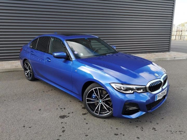 BMW Série 3 G20 330iA 258 M SPORT 07/2019 si Bleu Métallisé Occasion - 5