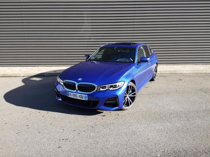 BMW Série 3 G20 330iA 258 M SPORT 07/2019 si Bleu Métallisé Occasion - 9