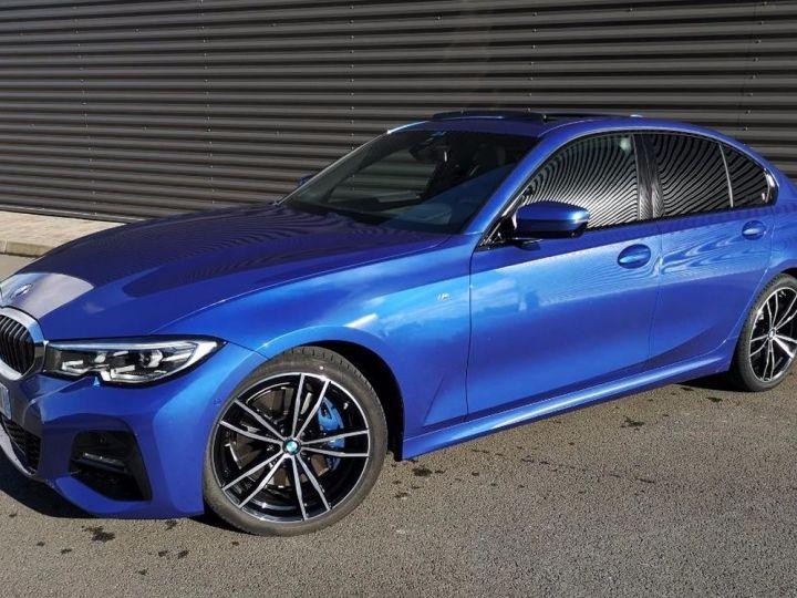 BMW Série 3 G20 330iA 258 M SPORT 07/2019 si Bleu Métallisé Occasion - 18