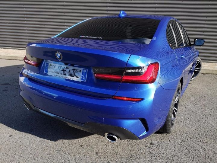 BMW Série 3 G20 330iA 258 M SPORT 07/2019 si Bleu Métallisé Occasion - 19