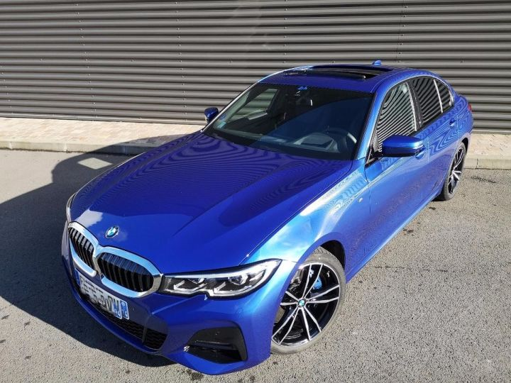 BMW Série 3 G20 330iA 258 M SPORT 9 500km Bleu Métallisé Occasion - 17