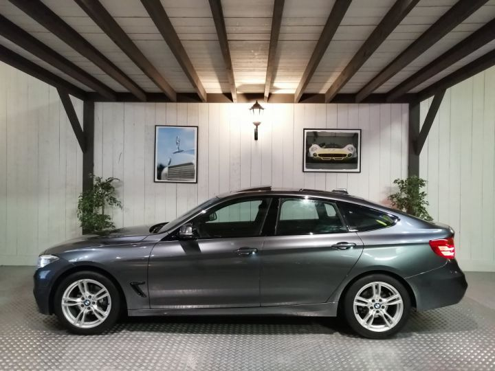 BMW Série 3 Gran Turismo 320D 184 CV M SPORT XDRIVE BV6 Gris - 1