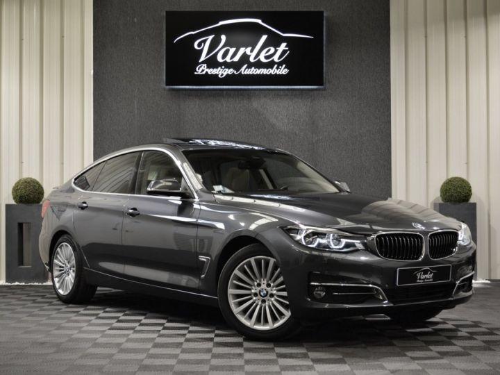 BMW Série 3 Gran Turismo 320DA GT F34 LCI LUXURY 2.0 190ch BVA8 GPS PRO HARMAN/KARDON TOIT PANO FULL LED 18 VN : 60000€ GRIS MINERAL - 1