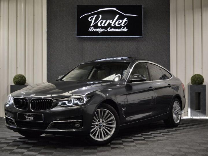 BMW Série 3 Gran Turismo 320DA GT F34 LCI LUXURY 2.0 190ch BVA8 GPS PRO HARMAN/KARDON TOIT PANO FULL LED 18 VN : 60000€ GRIS MINERAL - 3