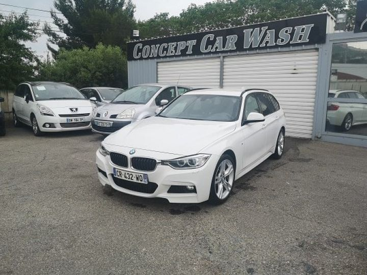 BMW Série 3 PACK M PERFORMANCE BLANC METAL Occasion - 1