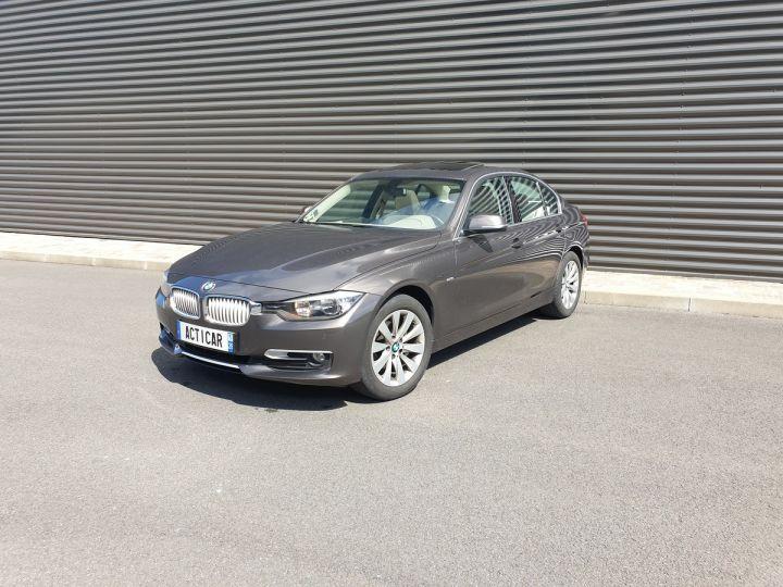 BMW Série 3 serie f30 318 d 143 modern bv6 Gris Occasion - 1