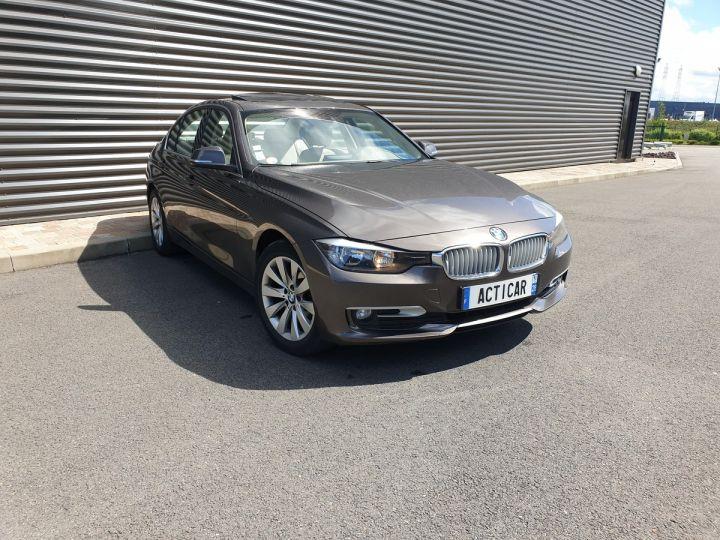 BMW Série 3 serie f30 318 d 143 modern bv6 Gris Occasion - 2