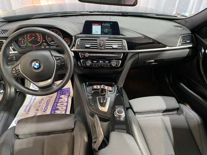 BMW Série 3 SERIE F30 318D 150CH BVA8 BUSINESS DESIGN GRIS FONCE - 8