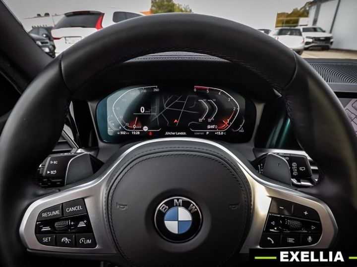 BMW Série 3 Touring 320d M Sport BLANC PEINTURE METALISE  Occasion - 6