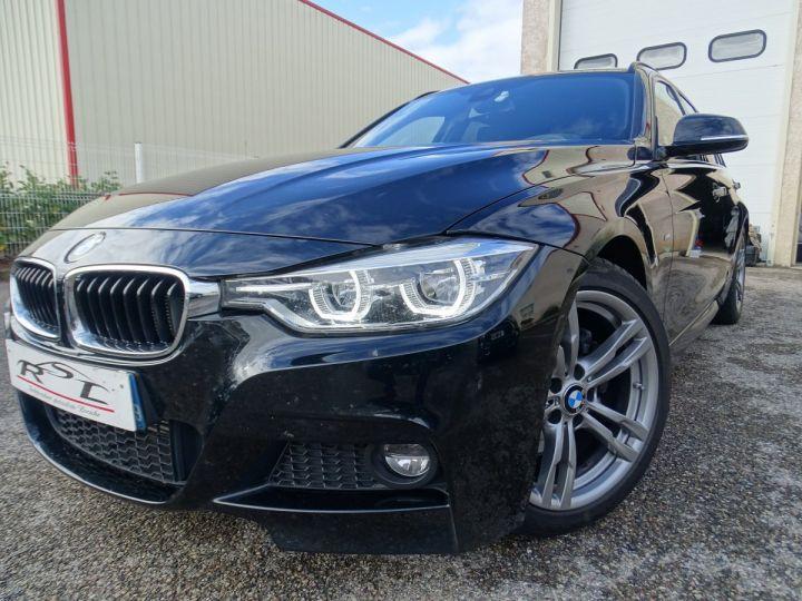 BMW Série 3 Touring 325D SPORT PACK M  noir metallisé - 1