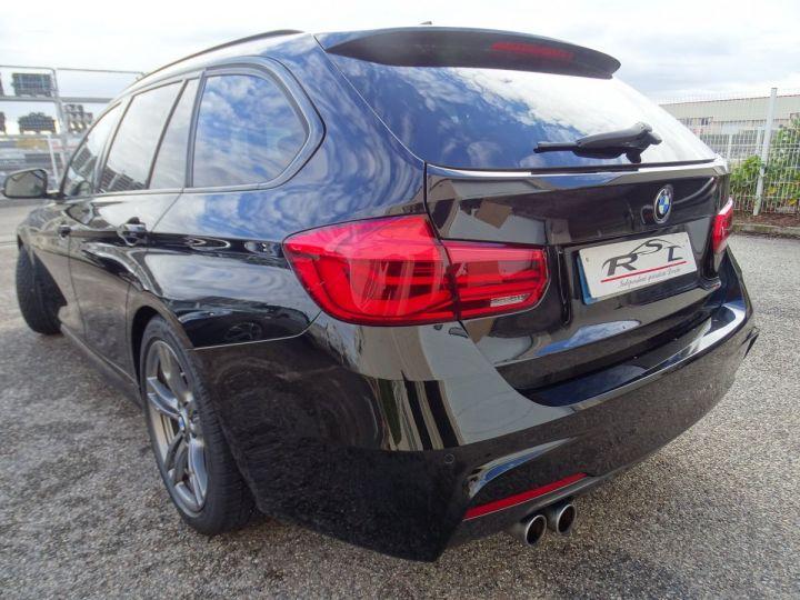 BMW Série 3 Touring 325D SPORT PACK M  noir metallisé - 12