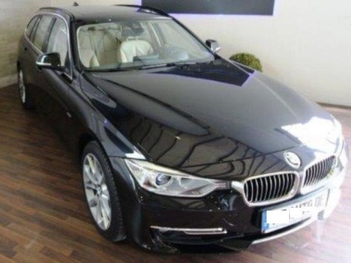 BMW Série 3 Touring 330 d Auto  xDrive 258 (01/2014) noir métal - 3