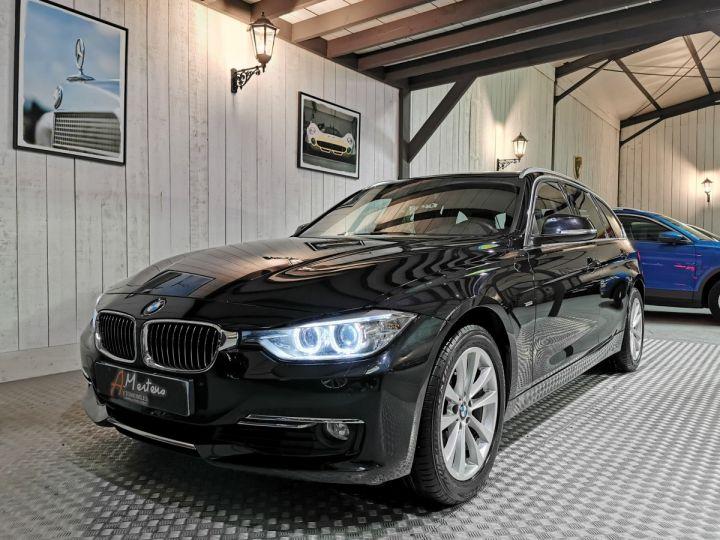 BMW Série 3 Touring 330XDA 258 CV LUXURY  Noir - 2
