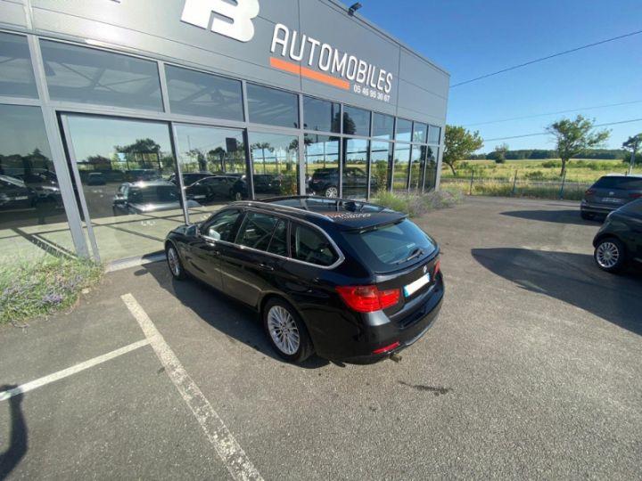 BMW Série 3 Touring (F31) 320DA 184CH LUXURY Noir - 13