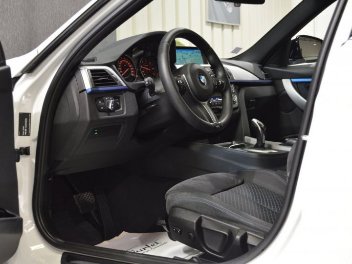 BMW Série 3 Touring MAGNIFIQUE BMW 320DA F31 LCI XDRIVE TOURING M SPORT 2.0 190ch BVA8 SPORT ALPINWEISS GPS FULL LED 19 BLANC ALPINWEISS - 7