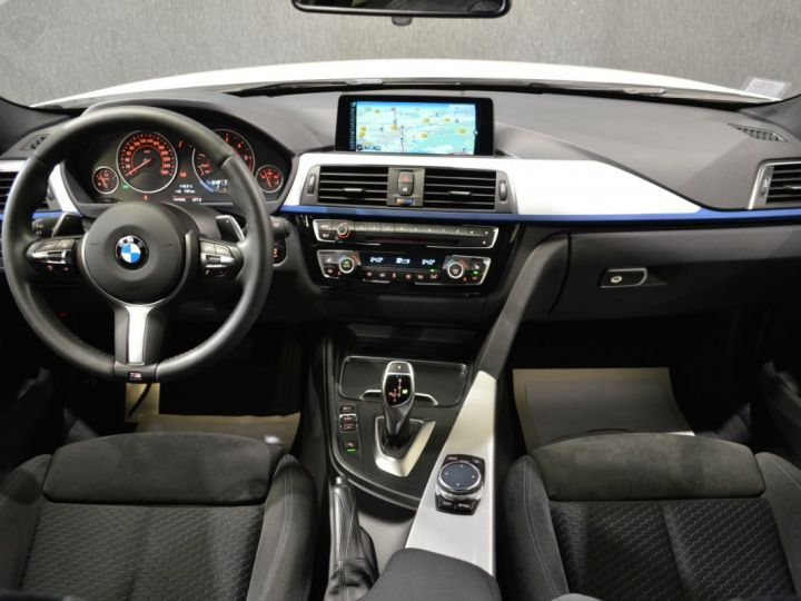 BMW Série 3 Touring MAGNIFIQUE BMW 320DA F31 LCI XDRIVE TOURING M SPORT 2.0 190ch BVA8 SPORT ALPINWEISS GPS FULL LED 19 BLANC ALPINWEISS - 8