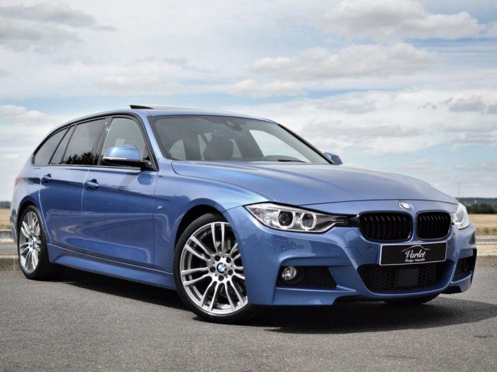 BMW Série 3 Touring MAGNIFIQUE BMW 330DA F31 TOURING M SPORT 3.0 L6 258ch BVA8 BLEU ESTORIL HUD ACC TOIT PANO 19... BLEU ESTORIL - 1