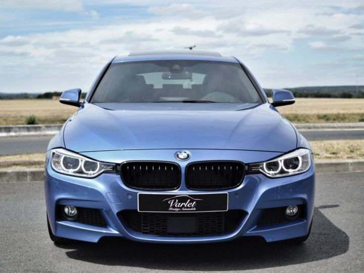 BMW Série 3 Touring MAGNIFIQUE BMW 330DA F31 TOURING M SPORT 3.0 L6 258ch BVA8 BLEU ESTORIL HUD ACC TOIT PANO 19... BLEU ESTORIL - 2