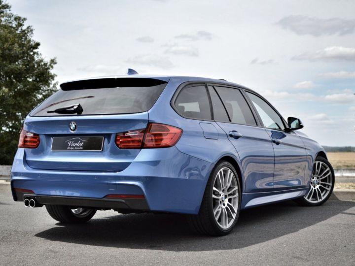BMW Série 3 Touring MAGNIFIQUE BMW 330DA F31 TOURING M SPORT 3.0 L6 258ch BVA8 BLEU ESTORIL HUD ACC TOIT PANO 19... BLEU ESTORIL - 4