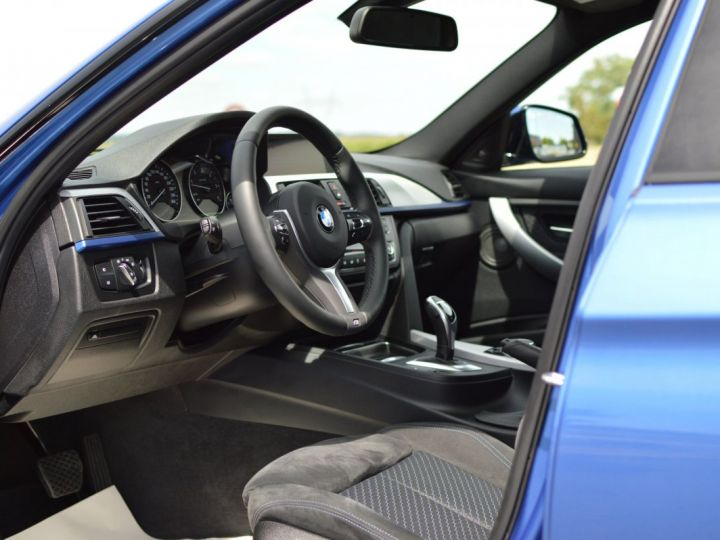 BMW Série 3 Touring MAGNIFIQUE BMW 330DA F31 TOURING M SPORT 3.0 L6 258ch BVA8 BLEU ESTORIL HUD ACC TOIT PANO 19... BLEU ESTORIL - 7