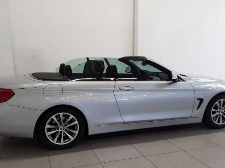 BMW Série 4 420 D 190 LUXURY BVA8 10/2017 gris  métal - 1