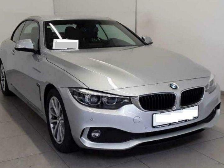 BMW Série 4 420 D 190 LUXURY BVA8 10/2017 gris  métal - 2
