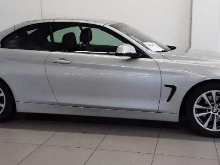BMW Série 4 420 D 190 LUXURY BVA8 10/2017 gris  métal - 3