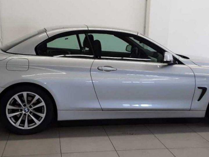 BMW Série 4 420 D 190 LUXURY BVA8 10/2017 gris  métal - 4